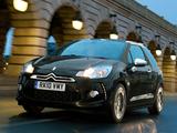 Citroën DS3 UK-spec 2009 pictures