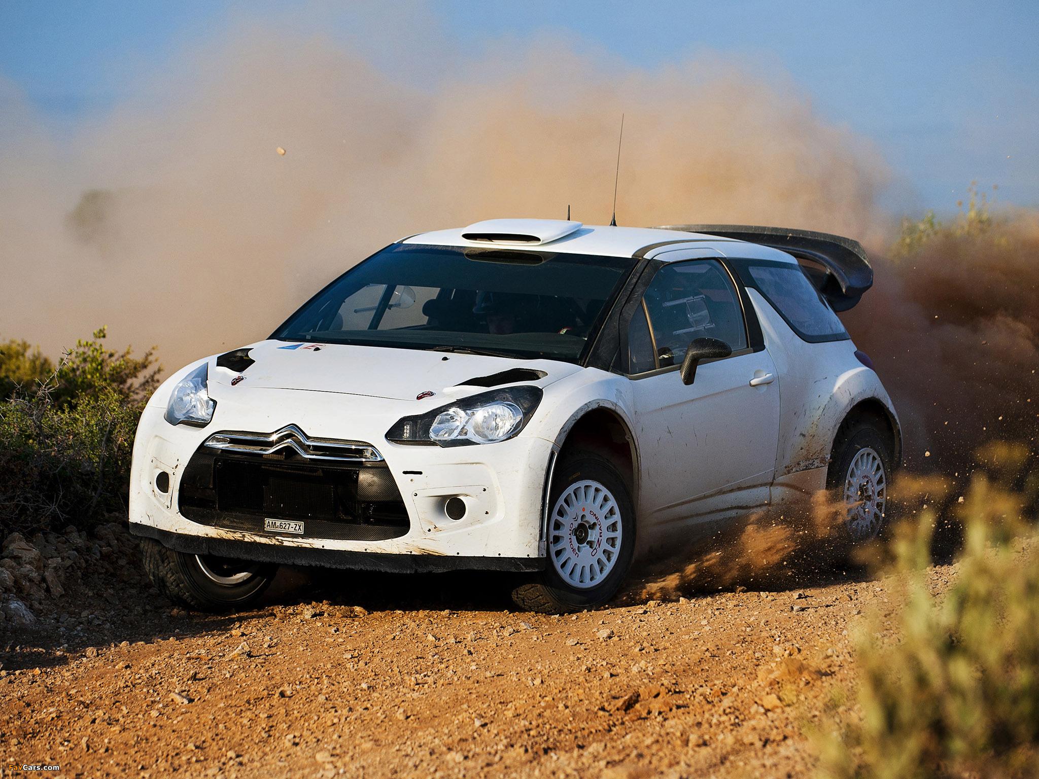 Citroën DS3 WRC Prototype 2010 images (2048 x 1536)