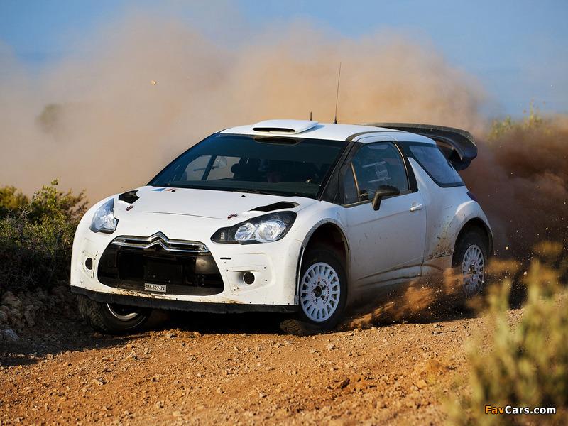 Citroën DS3 WRC Prototype 2010 images (800 x 600)