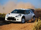 Citroën DS3 WRC Prototype 2010 images