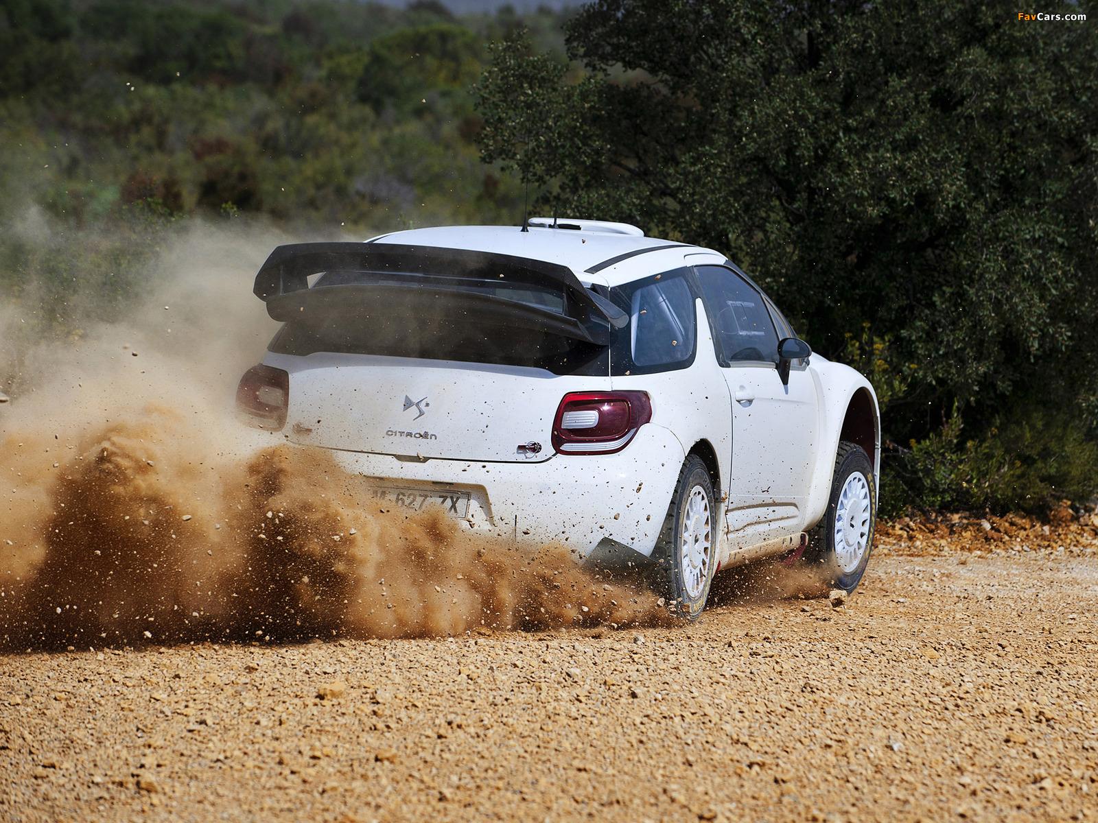 Citroën DS3 WRC Prototype 2010 photos (1600 x 1200)