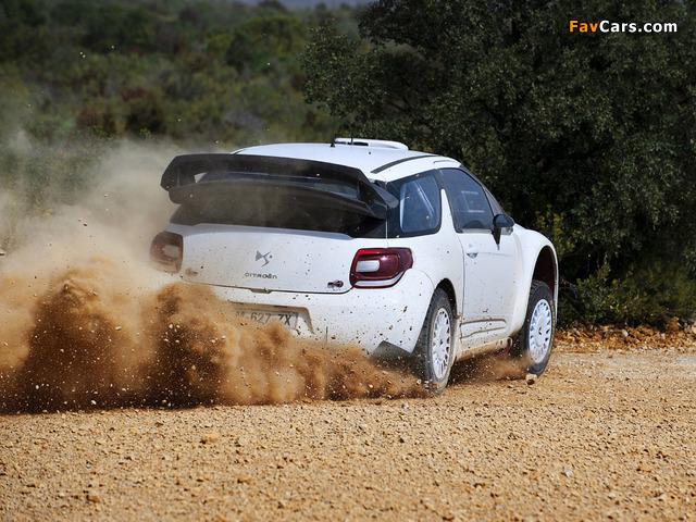 Citroën DS3 WRC Prototype 2010 photos (640 x 480)