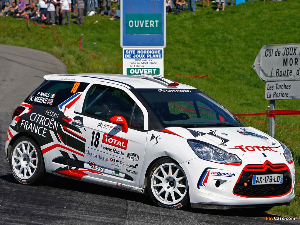 Citroën DS3 R3 2010 photos (1024 x 768)