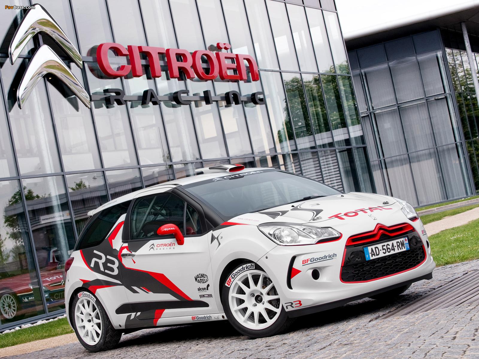 Citroën DS3 R3 2010 pictures (1600 x 1200)