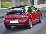 Citroën DS3 Cabrio ZA-spec 2013 pictures