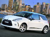 Pictures of Citroën DS3 AU-spec 2009