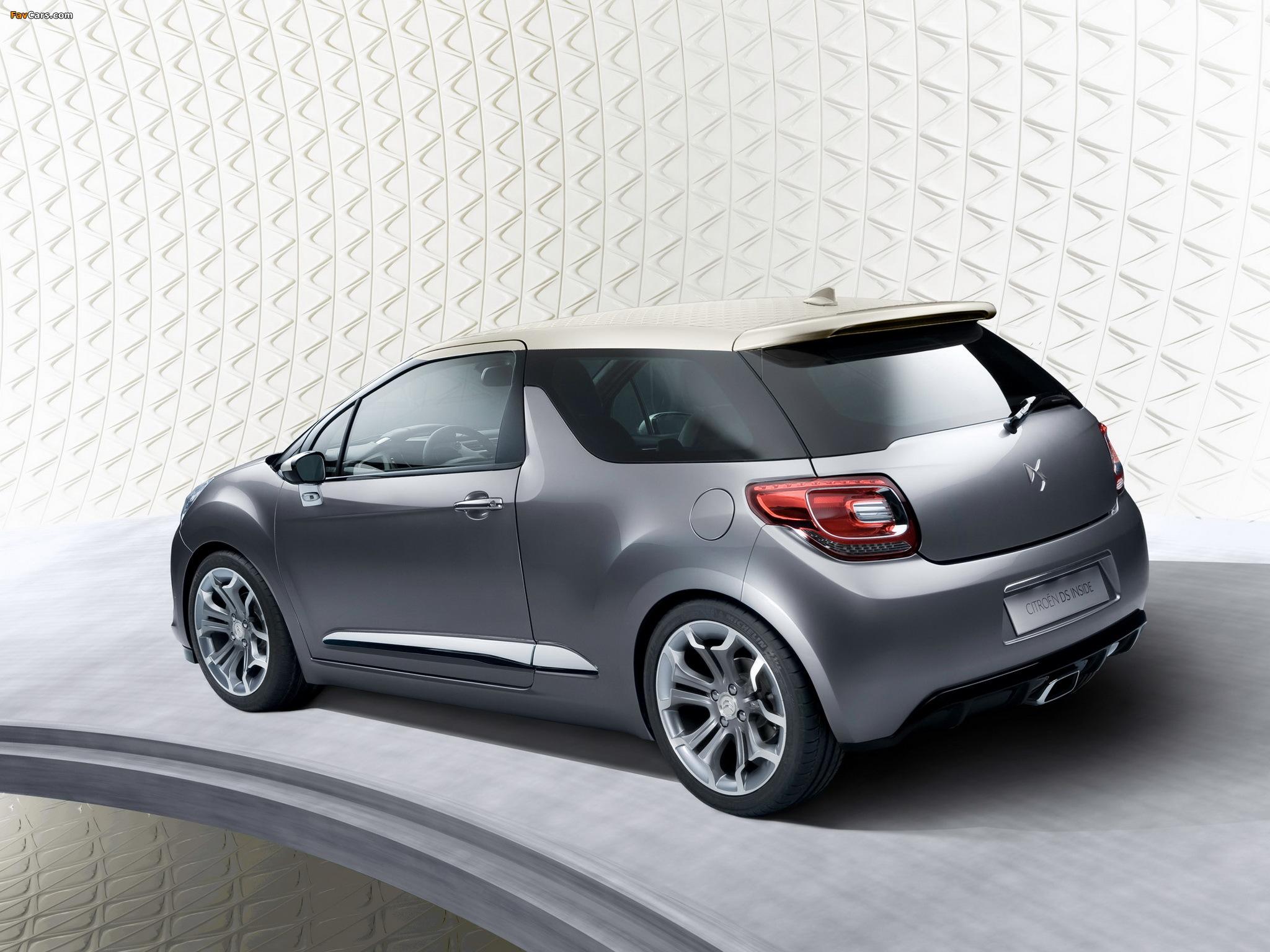 Pictures of Citroën DS Inside Concept 2009 (2048 x 1536)