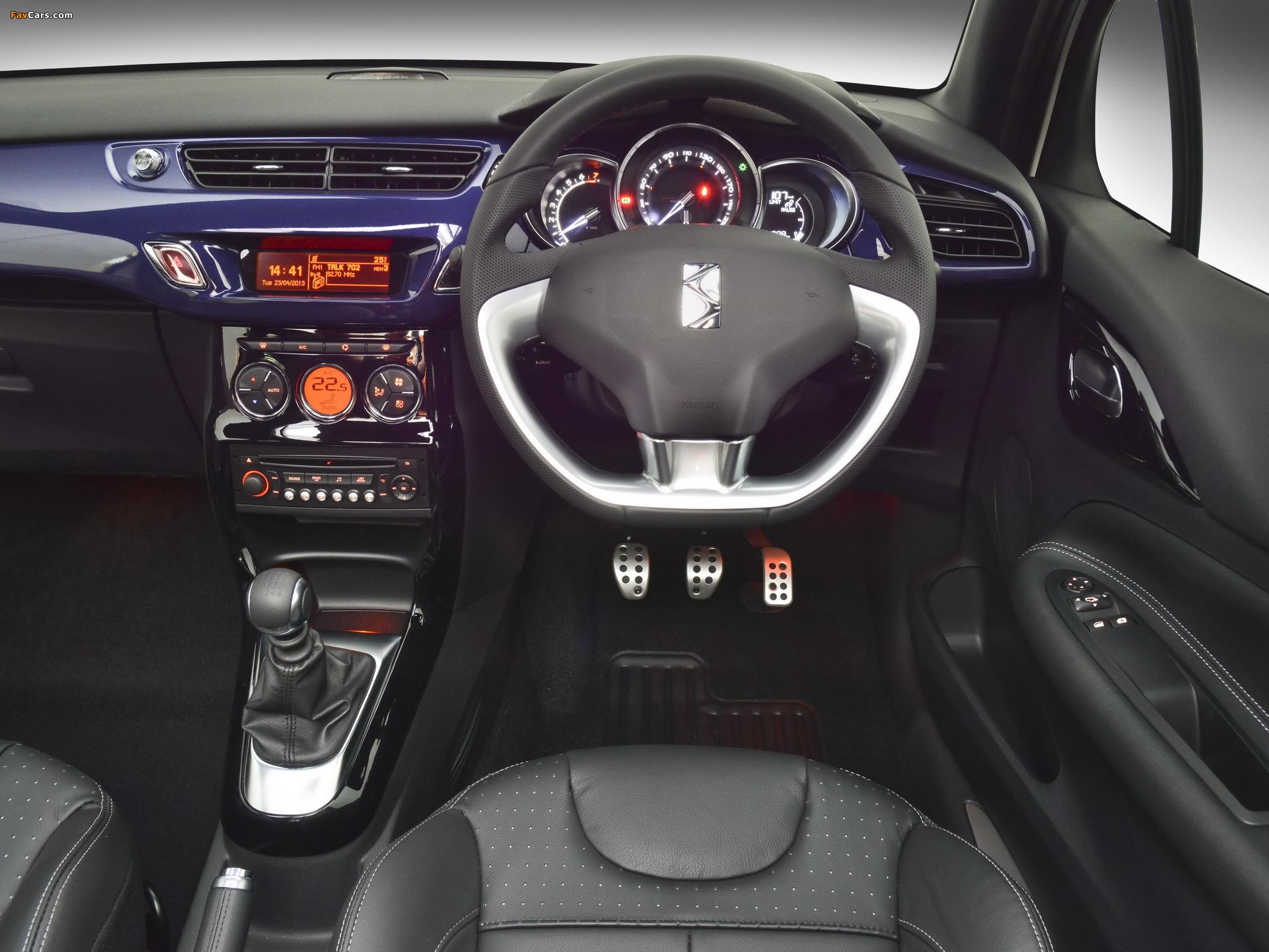 Pictures of Citroën DS3 Cabrio ZA-spec 2013 (2048 x 1536)
