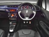 Pictures of Citroën DS3 Cabrio ZA-spec 2013