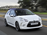 Pictures of Citroën DS3 Cabrio ZA-spec 2013