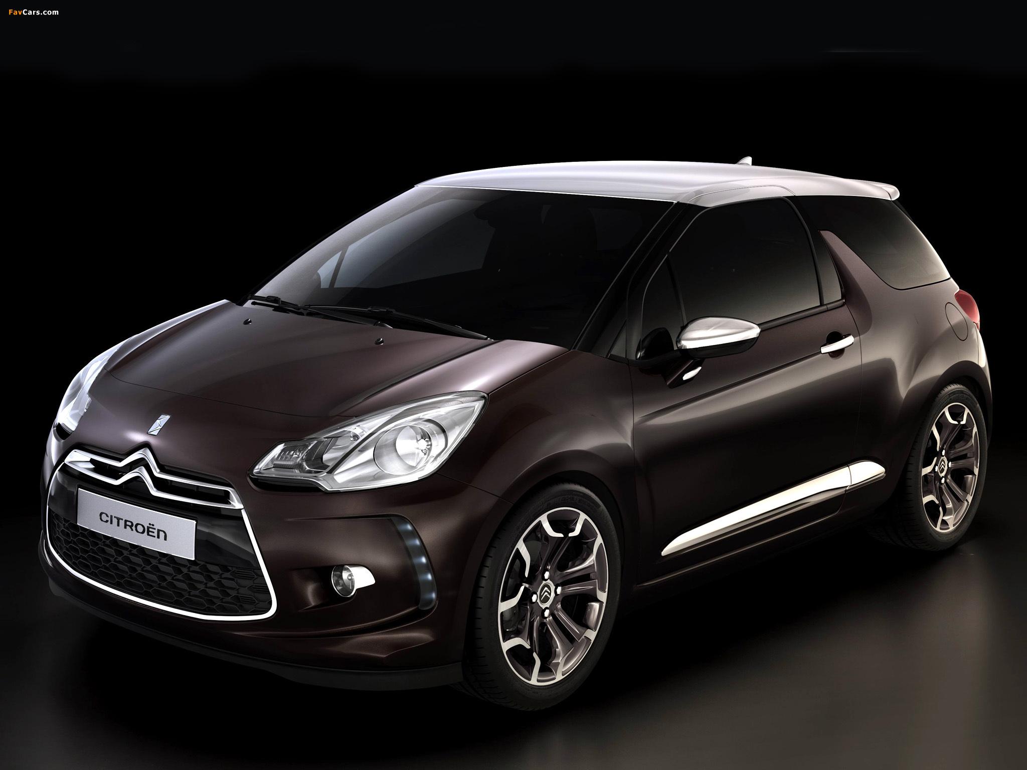 Citroën DS Inside Concept 2009 wallpapers (2048 x 1536)
