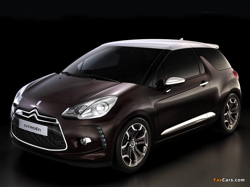 Citroën DS Inside Concept 2009 wallpapers (800 x 600)