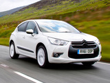 Citroën DS4 UK-spec 2010 pictures