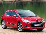 Citroën DS4 UK-spec 2010 wallpapers
