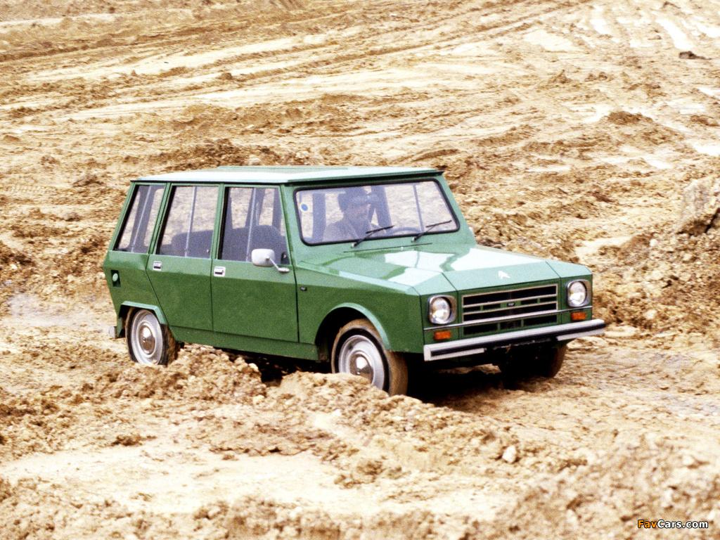 Citroën FAF 5-door 1973–82 photos (1024 x 768)