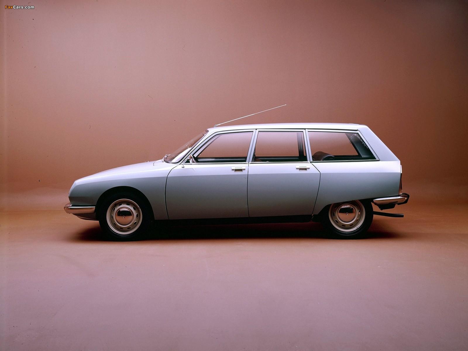 Citroën GS Break 1971–79 pictures (1600 x 1200)