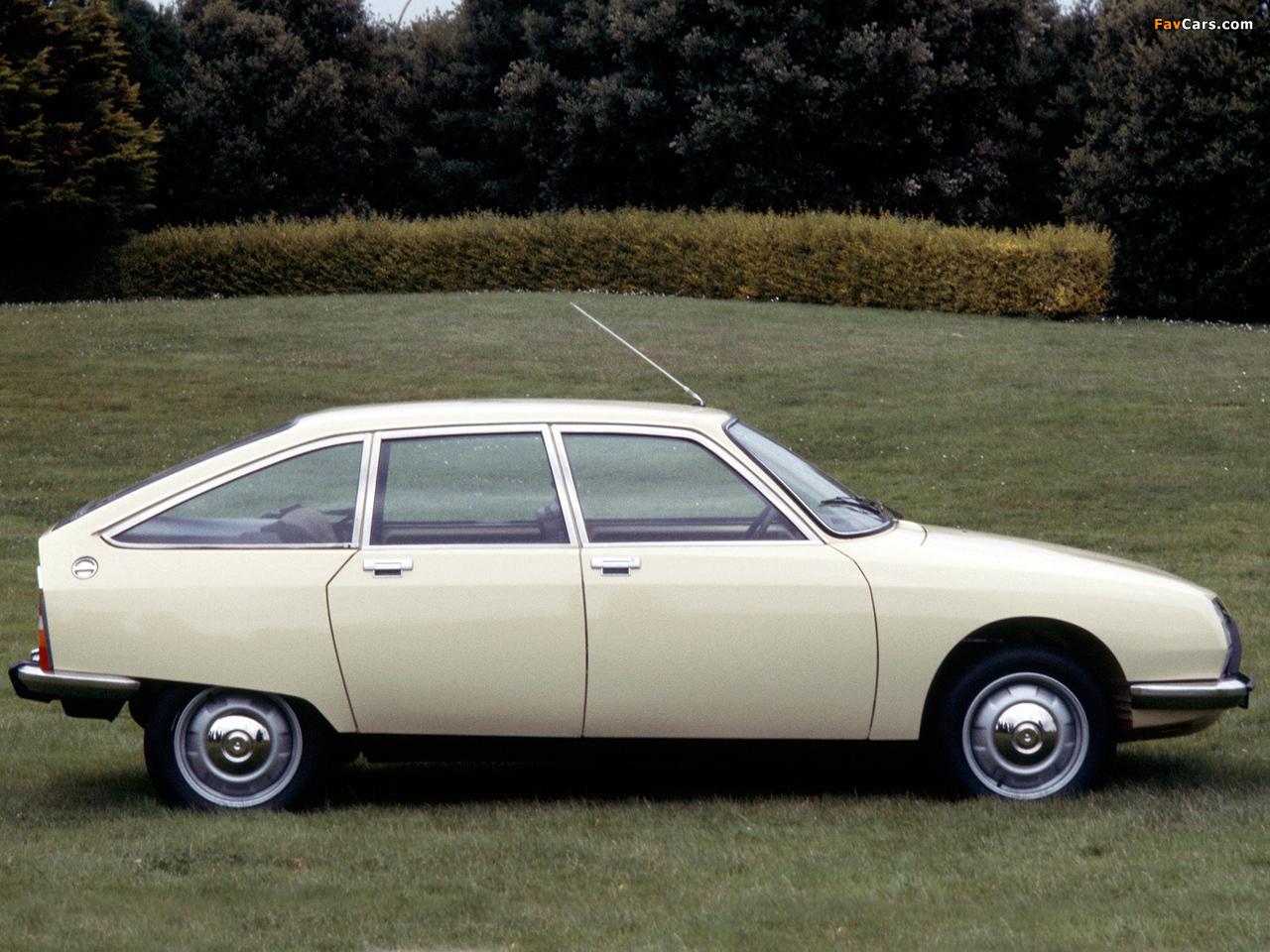 Citroën GS Club 1977–79 images (1280 x 960)