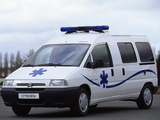 Citroën Jumpy Ambulance 1995–2004 images