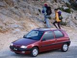Citroën Saxo 3-door 1996–99 images