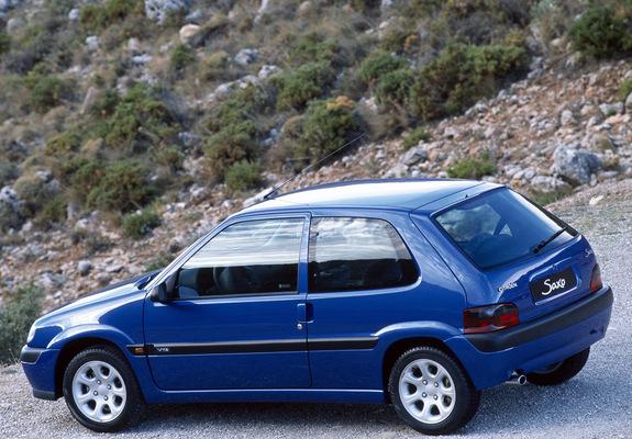 Citroën Saxo Vts 199699 Wallpapers