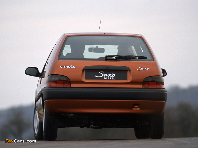 Pictures of Citroën Saxo 3-door 1996–99 (640 x 480)