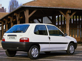 Citroën Saxo 3-door 1999–2004 wallpapers