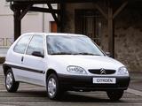 Citroën Saxo 3-door 1999–2004 wallpapers