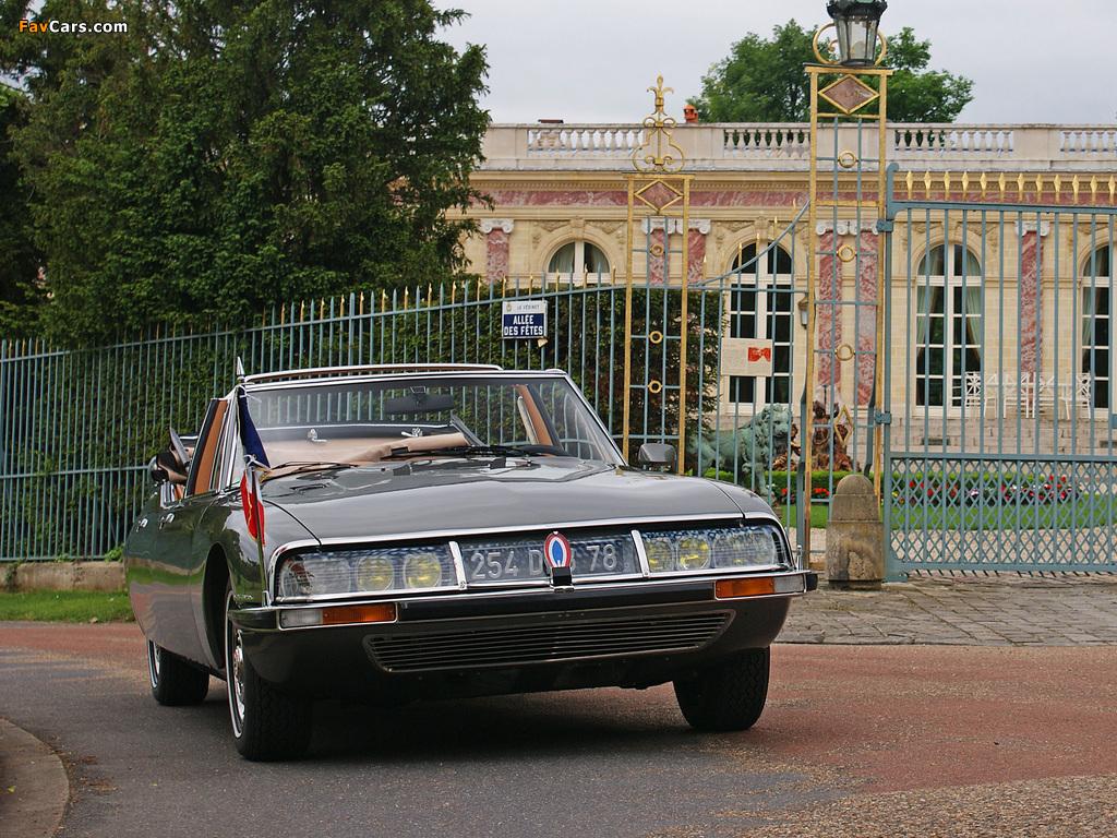 Images of Citroën SM Présidentielle by Chapron 1972 (1024 x 768)