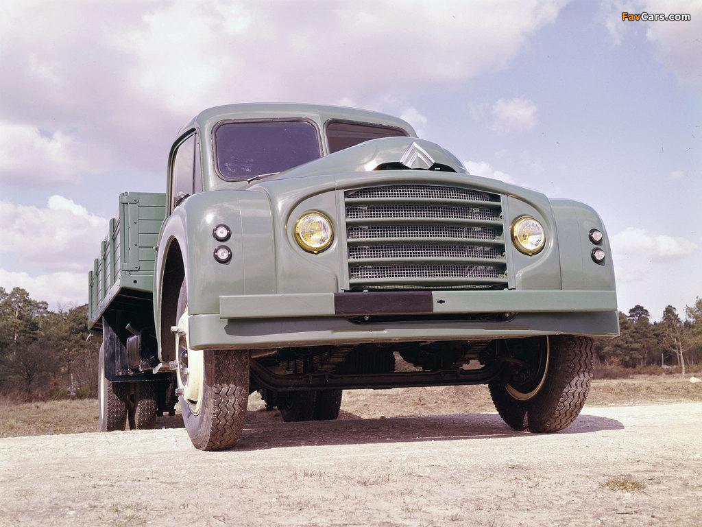 Citroën Type 55 1953–65 wallpapers (1024 x 768)