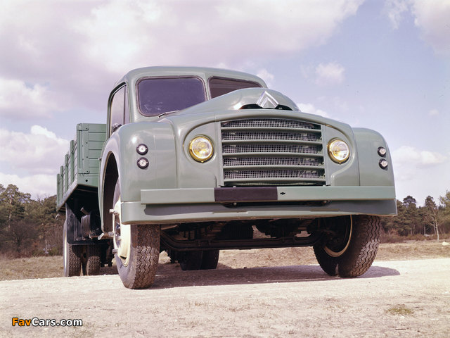 Citroën Type 55 1953–65 wallpapers (640 x 480)