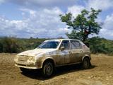 Citroën Visa 1000 Pistes Rally Car 1983–86 wallpapers
