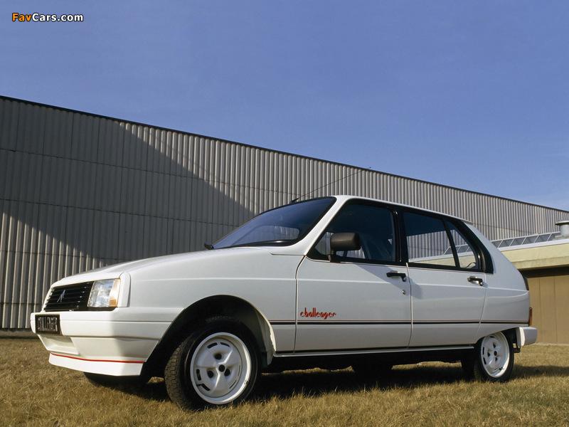 Photos of Citroën Visa Challenger 1985 (800 x 600)