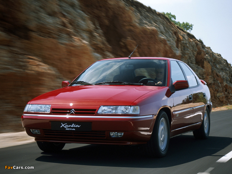 Photos of Citroën Xantia Activa 1994–97 (800 x 600)