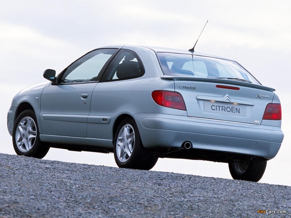 Citroën Xsara VTS 2000–03 photos (1024 x 768)