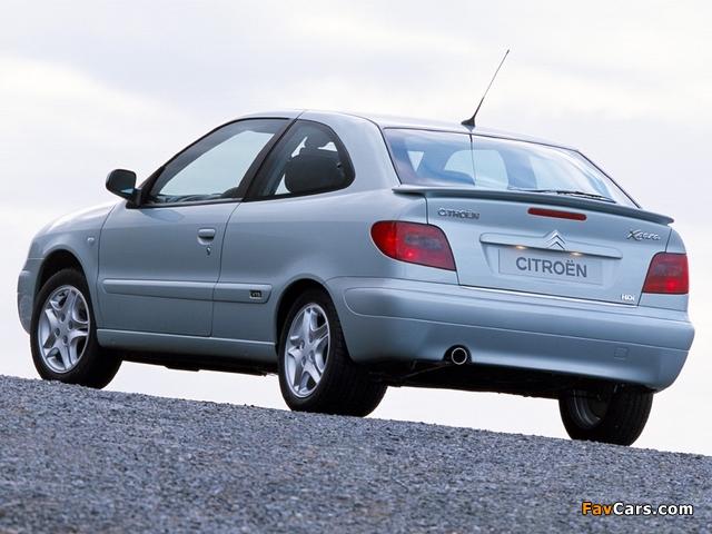 Citroën Xsara VTS 2000–03 photos (640 x 480)
