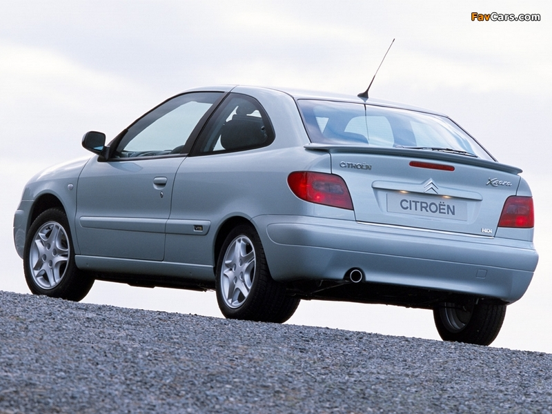 Citroën Xsara VTS 2000–03 photos (800 x 600)