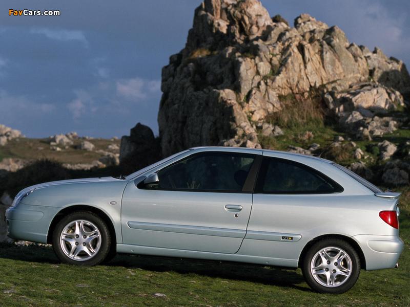 Citroën Xsara VTS 2000–03 pictures (800 x 600)