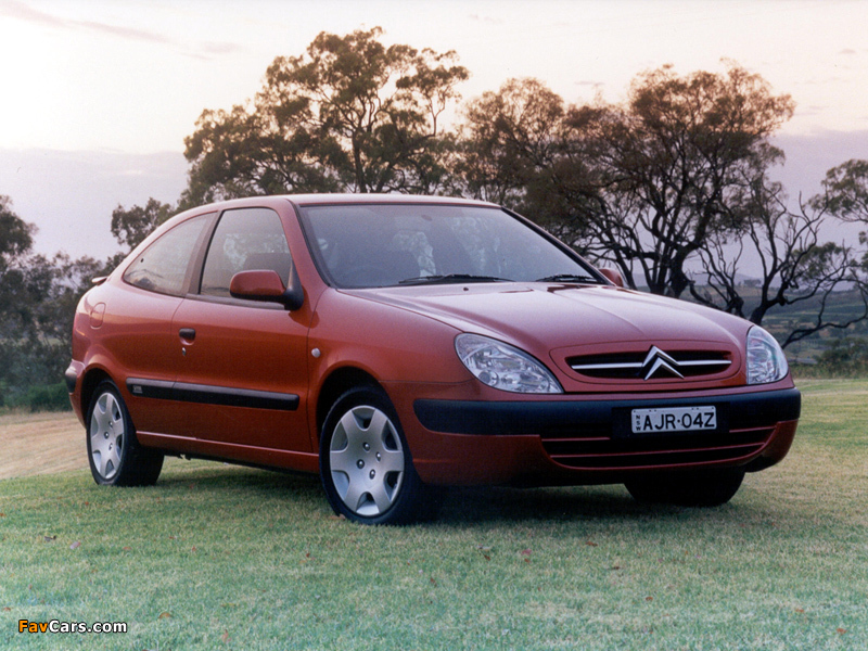 Citroën Xsara VTR AU-spec 2000–03 pictures (800 x 600)