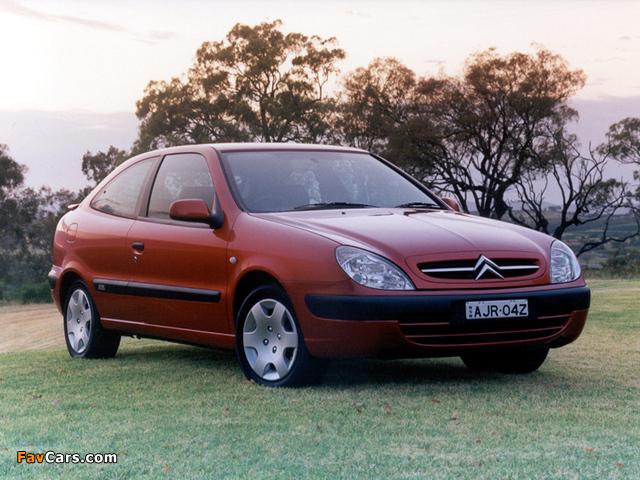 Citroën Xsara VTR AU-spec 2000–03 pictures (640 x 480)