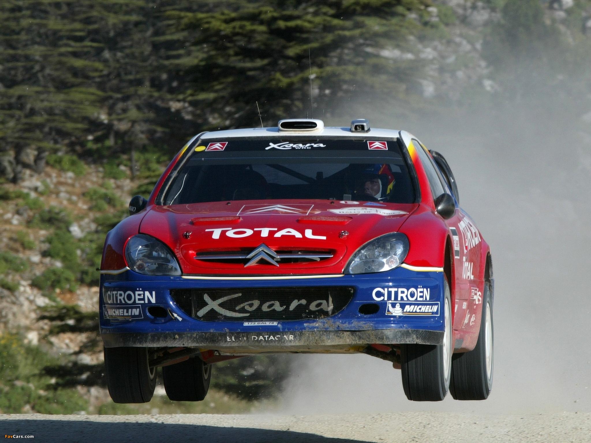 Citroën Xsara WRC 2001–06 images (2048 x 1536)