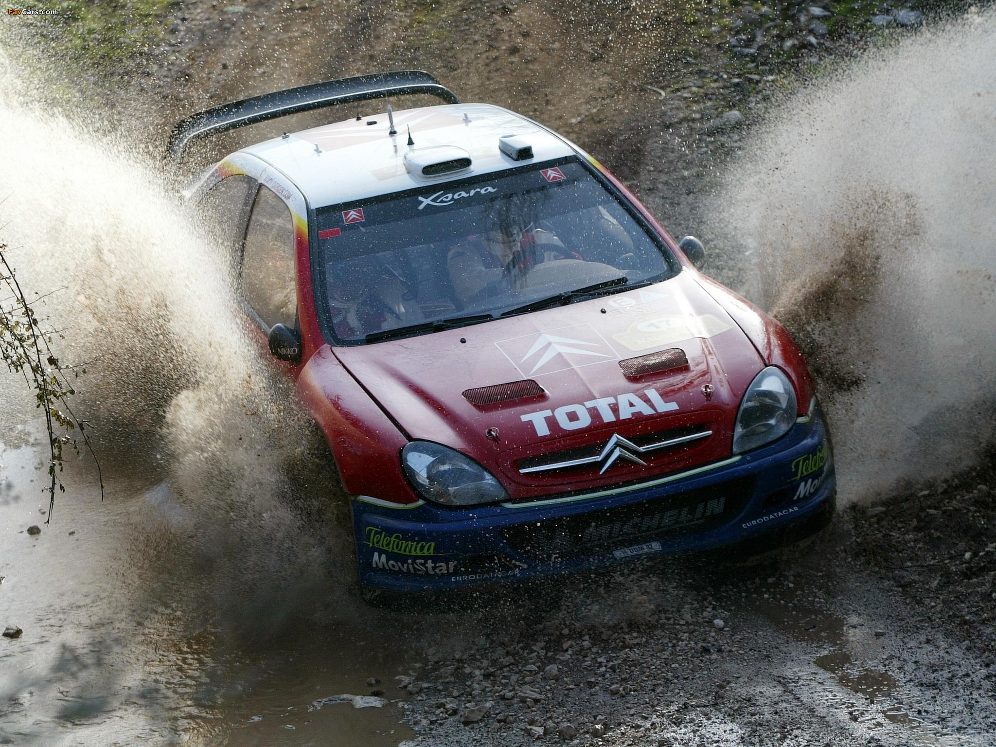 Citroën Xsara WRC 2001–06 photos (2048 x 1536)