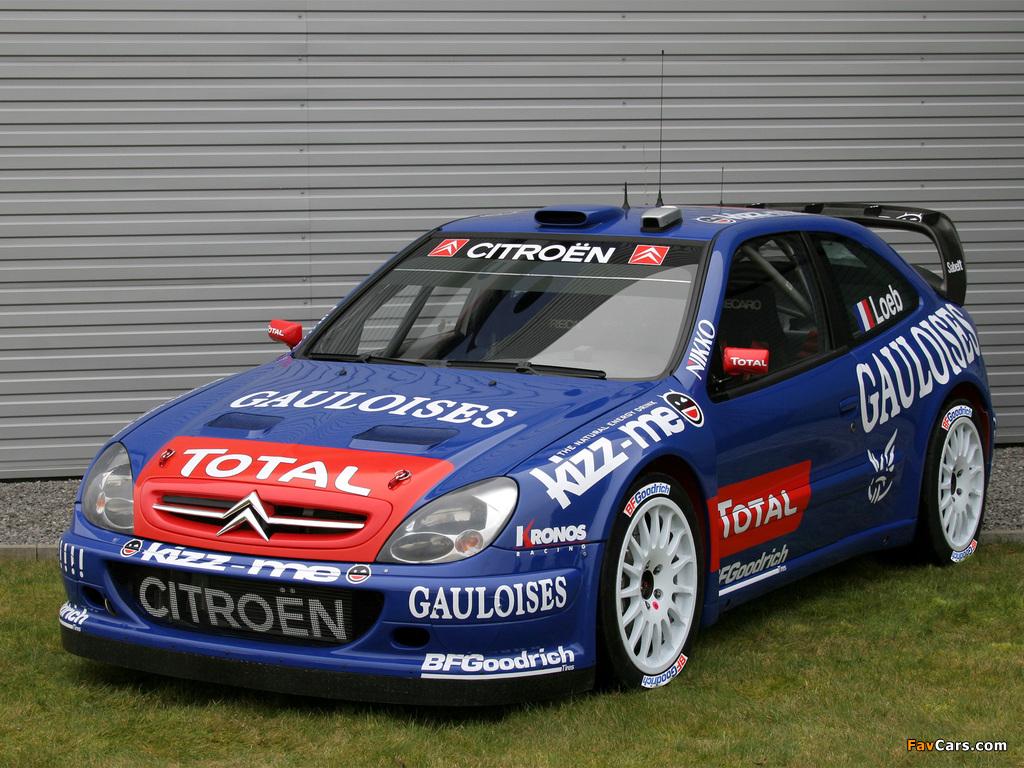 Citroën Xsara WRC 2001–06 pictures (1024 x 768)