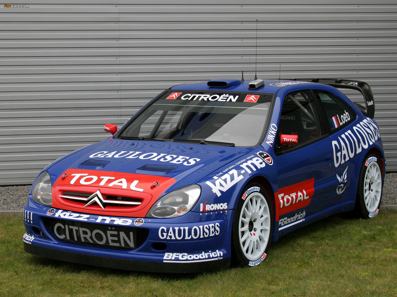 Citroën Xsara WRC 2001–06 pictures (1600 x 1200)