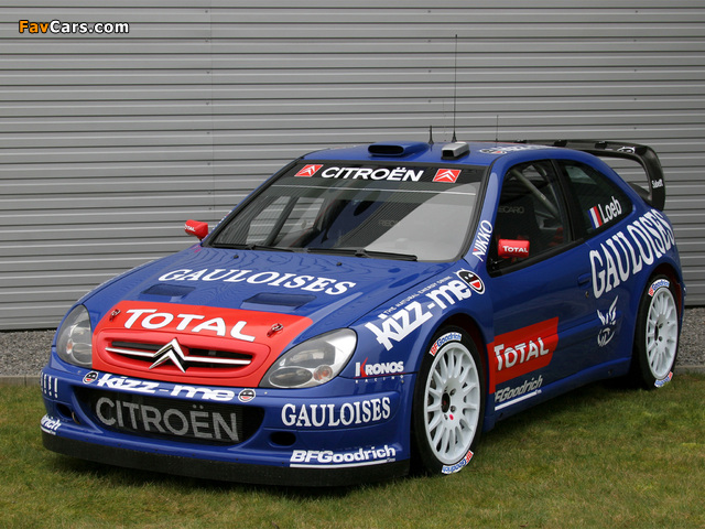 Citroën Xsara WRC 2001–06 pictures (640 x 480)