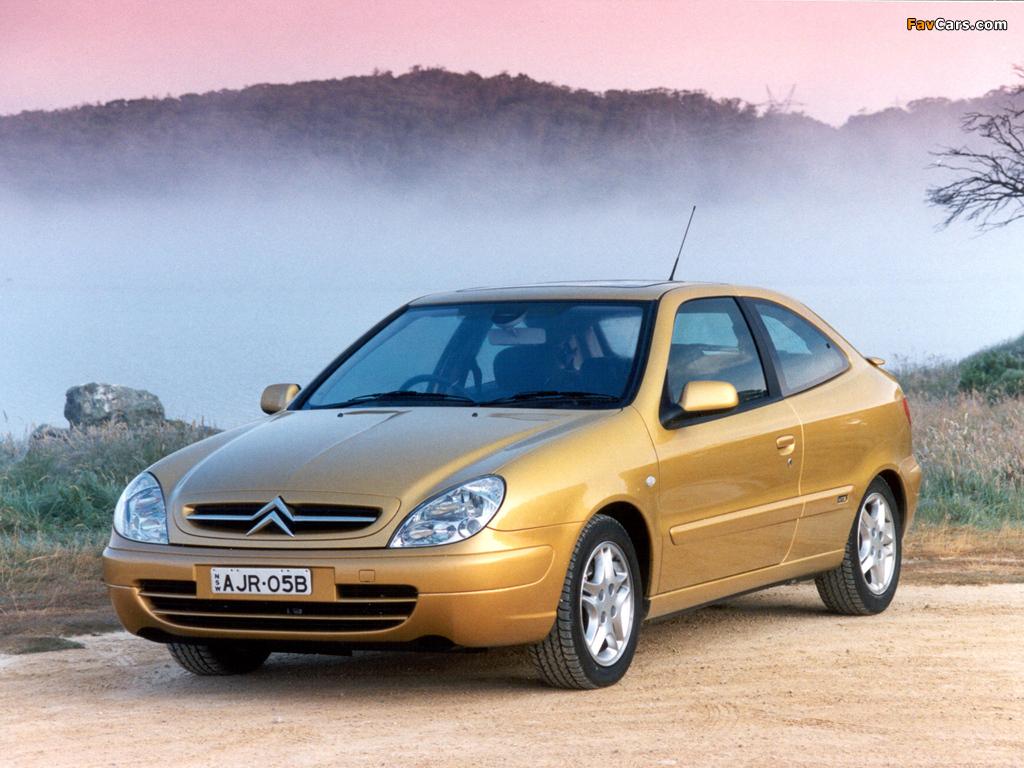 Images of Citroën Xsara VTS AU-spec 2000–03 (1024 x 768)