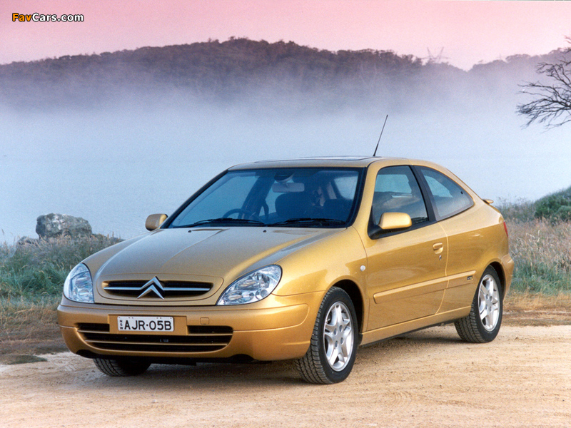 Images of Citroën Xsara VTS AU-spec 2000–03 (800 x 600)
