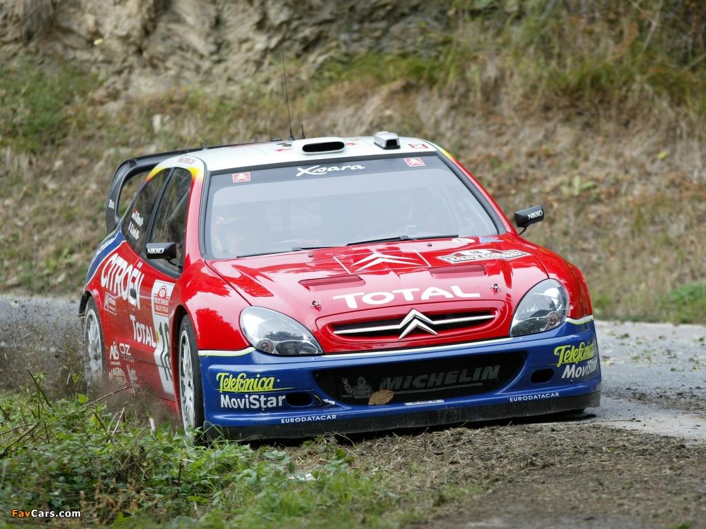 Images of Citroën Xsara WRC 2001–06 (1024 x 768)