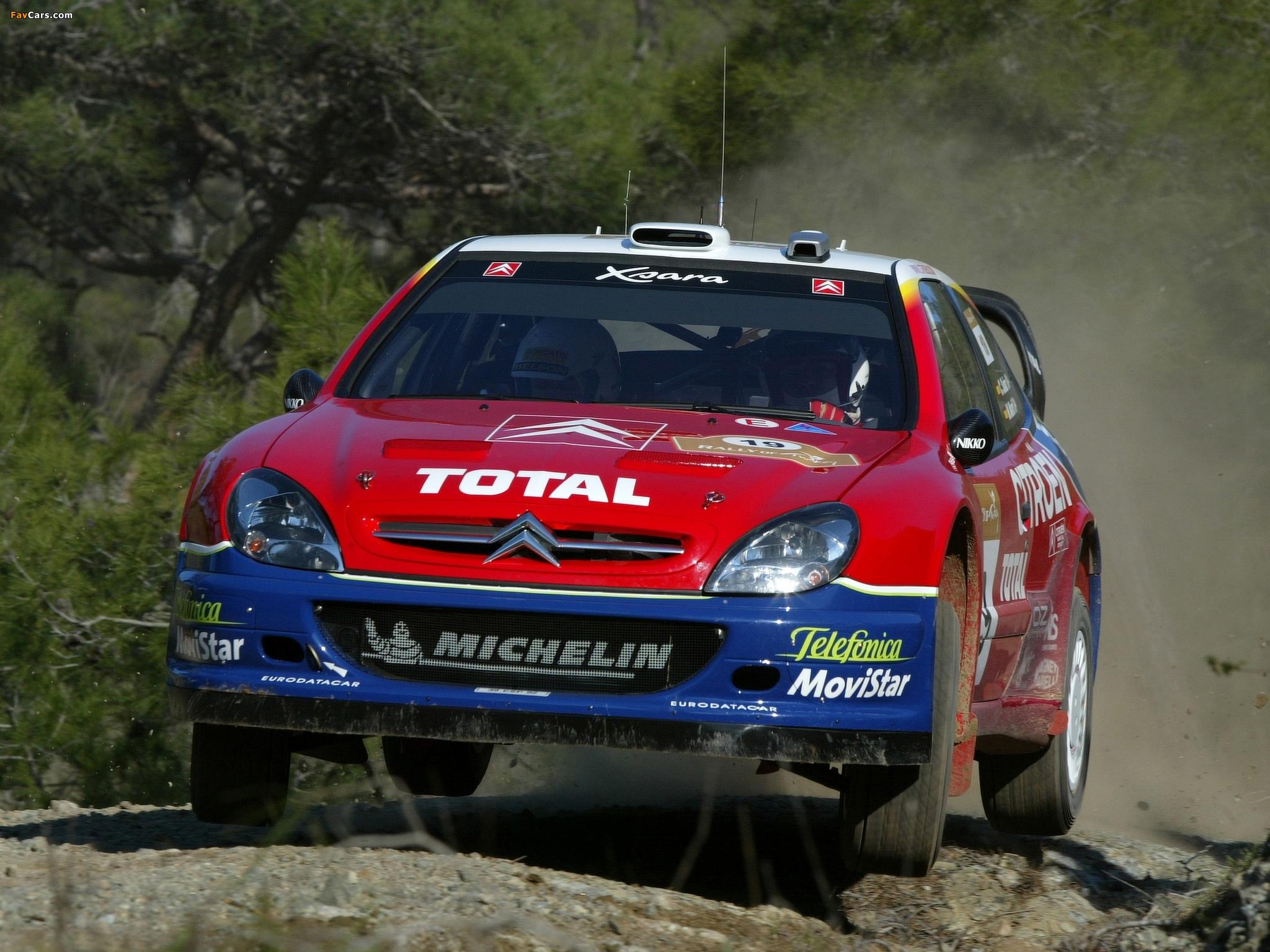 Images of Citroën Xsara WRC 2001–06 (2048 x 1536)
