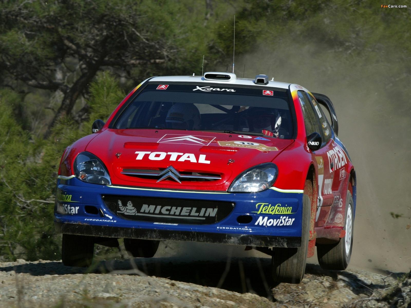 Images of Citroën Xsara WRC 2001–06 (1600 x 1200)