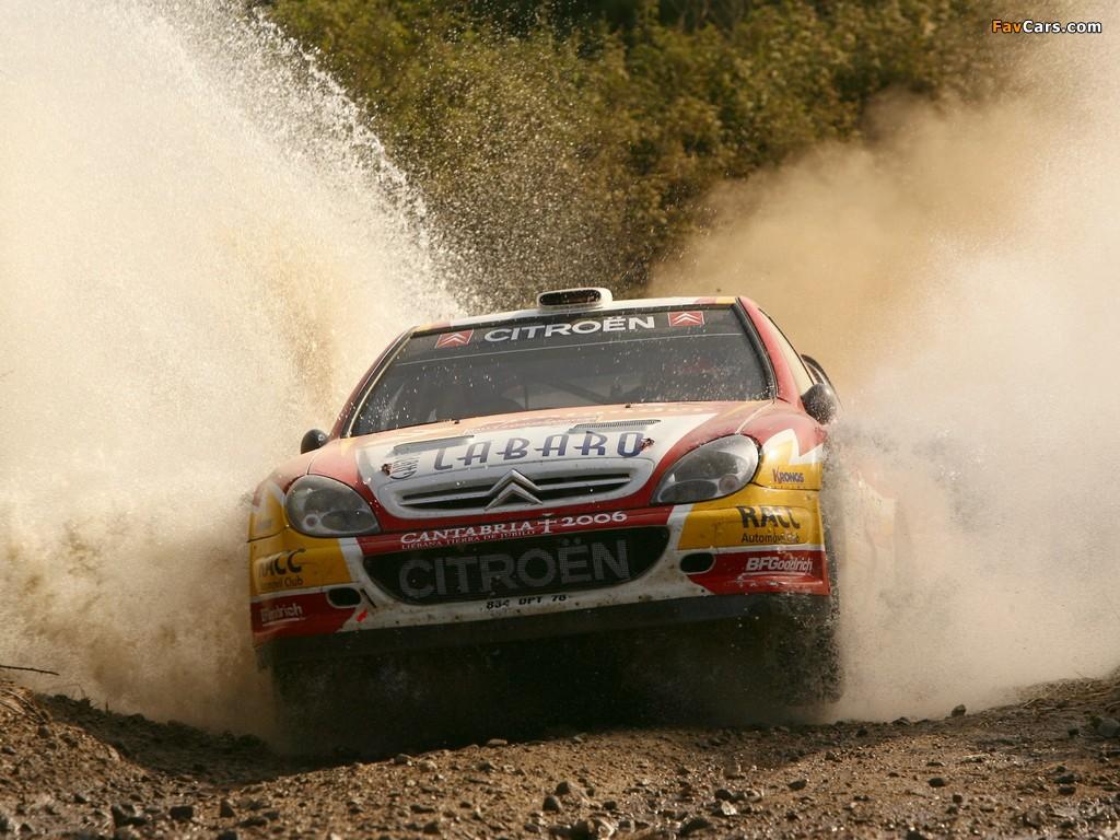 Photos of Citroën Xsara WRC 2001–06 (1024 x 768)